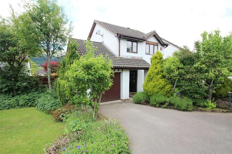 3 Bedrooms Detached House for sale in De Cantelupe Close, Ysbytty Fields, Abergavenny, NP7