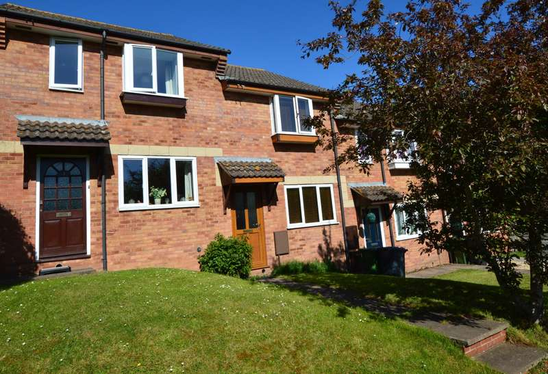 2 Bedrooms Terraced House for sale in Uplands Drive, Exeter