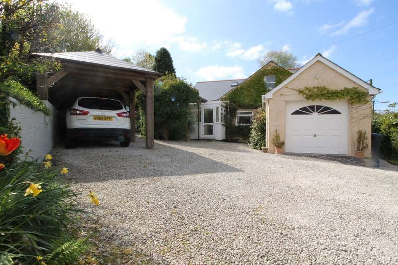 4 Bedrooms Detached Bungalow for sale in Clann Lane, Lanivet, Bodmin, PL30