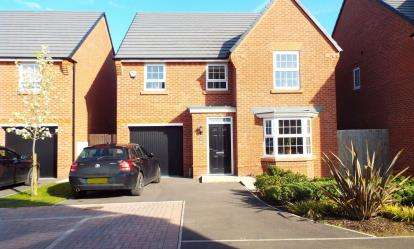 4 Bedrooms Detached House for sale in Stargrass Close, Stapeley, Nantwich, Cheshire