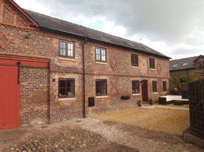 4 Bedrooms Barn Conversion Character Property for sale in Village Farm, Chester Road, Warrington, Cheshire