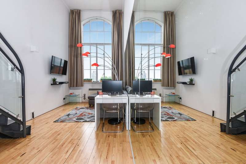 1 Bedroom Flat for sale in Manhattan Building, Bow Quarter