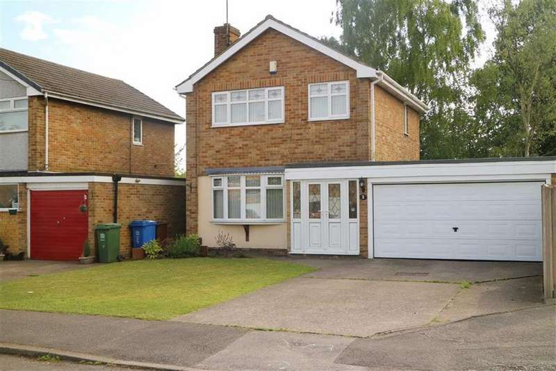 3 Bedrooms Detached House for sale in Durham Close, Mansfield Woodhouse, Notts, NG19