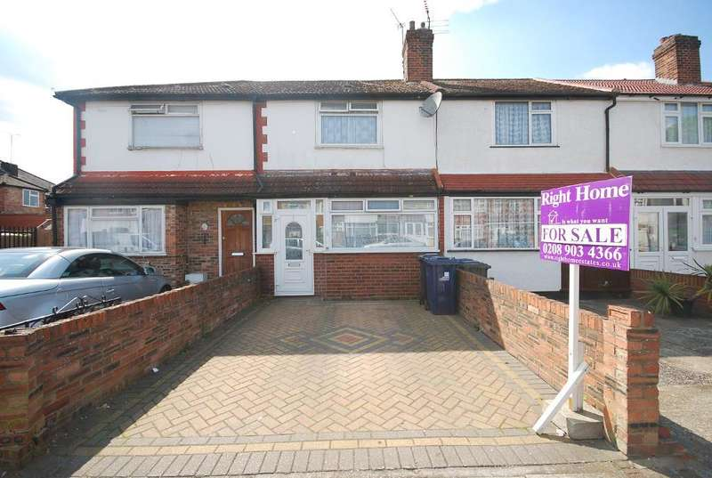 3 Bedrooms Terraced House for sale in EMPIRE ROAD, PERIVALE, GREENFORD, UB6 7EH