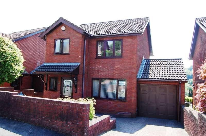 3 Bedrooms Detached House for sale in Beechwood Close, Newbridge, Newport
