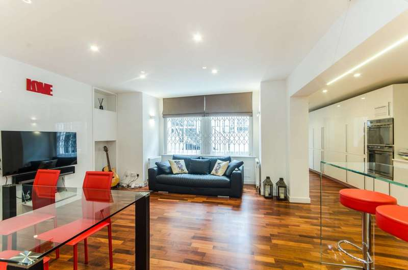 2 Bedrooms Maisonette Flat for sale in Redcliffe Gardens, Chelsea, SW10