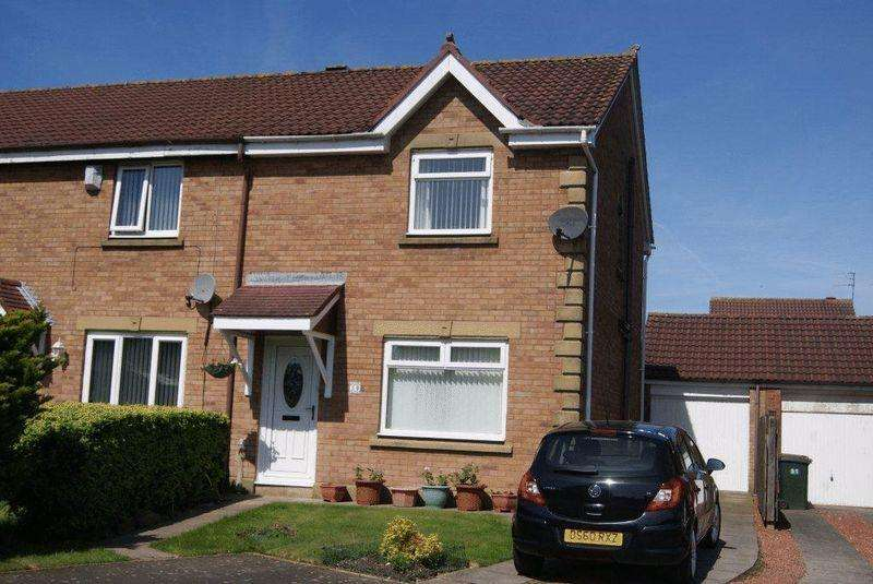 3 Bedrooms End Of Terrace House for sale in Ashley Close, Killingworth