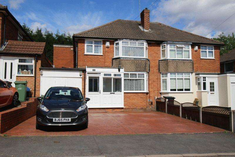 3 Bedrooms Semi Detached House for sale in Wallows Wood, Dudley