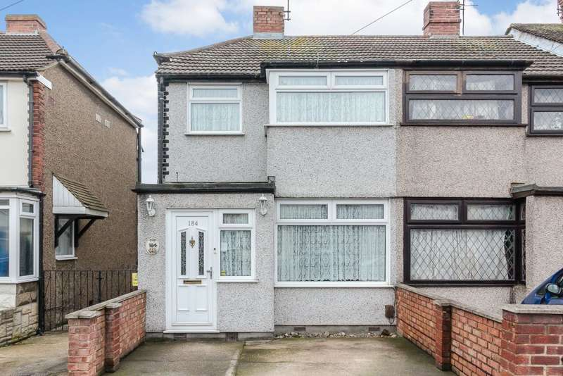 3 Bedrooms Semi Detached House for sale in Third Avenue, Dagenham, RM10 9BB