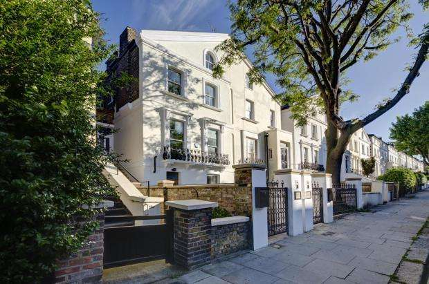 5 Bedrooms Flat for sale in St. Augustines Road, London, NW1