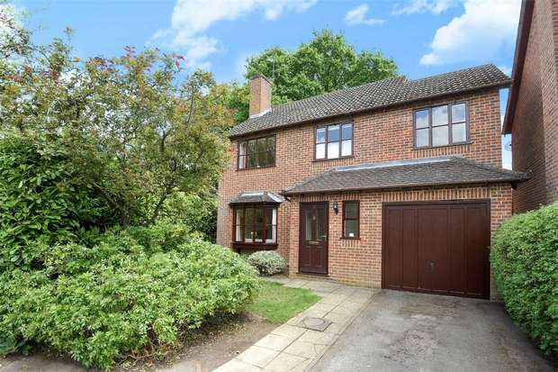 4 Bedrooms Detached House for sale in Vermont Woods, FINCHAMPSTEAD, Berkshire