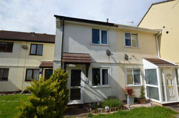 2 Bedrooms Terraced House for sale in Downfield Close, Brixham, Devon