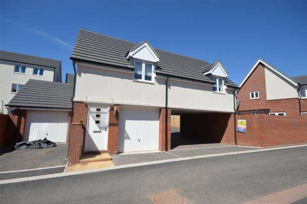 2 Bedrooms Detached House for sale in Crimson King, Cranbrook, Exeter, Devon