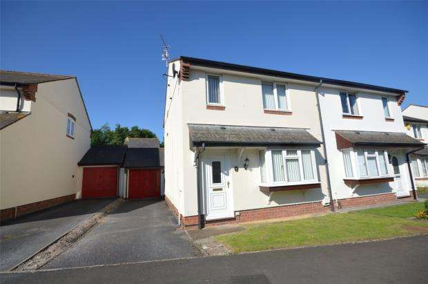 3 Bedrooms Semi Detached House for sale in Loram Way, Exeter, Devon
