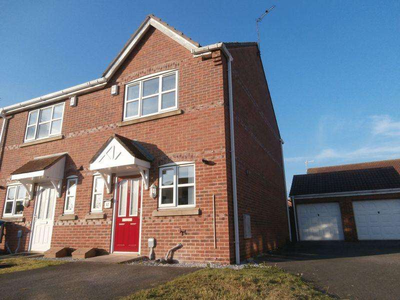 2 Bedrooms Terraced House for sale in Tennyson Court, Hedon