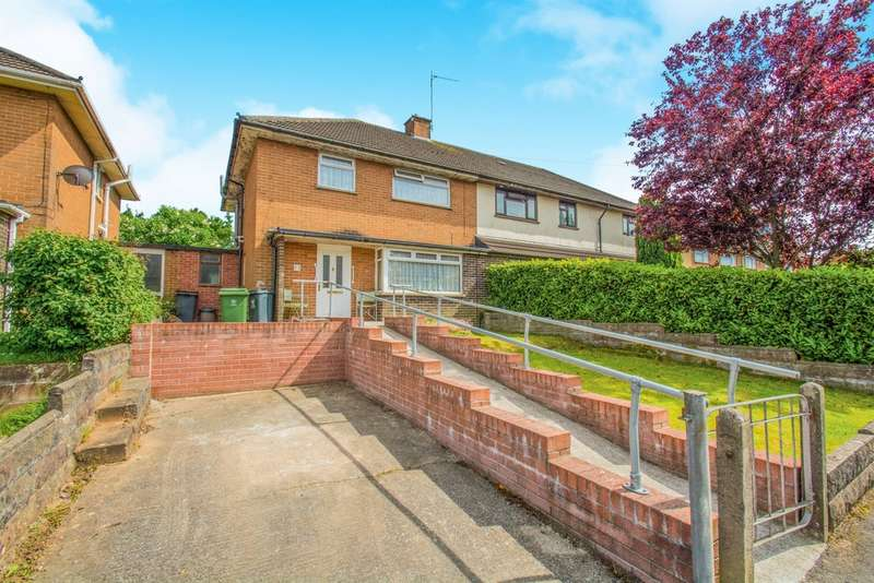 3 Bedrooms Semi Detached House for sale in Sedgemoor Road, Llanrumney, Cardiff
