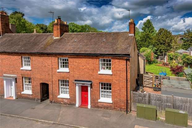 4 Bedrooms End Of Terrace House for sale in 28 Church Street, Shifnal, Shropshire