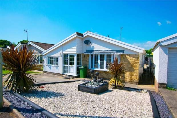 3 Bedrooms Detached Bungalow for sale in Trenos Gardens, Bryncae, Llanharan, Pontyclun, Mid Glamorgan