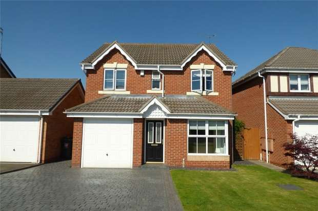 4 Bedrooms Detached House for sale in Lilleburne Drive, The Shires, Nuneaton, Warwickshire