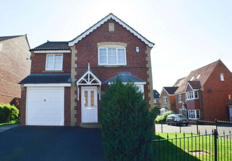 4 Bedrooms Detached House for sale in Farmwell Place, Prudhoe, NE42