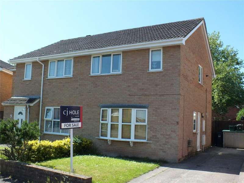 3 Bedrooms Semi Detached House for sale in Fallowfield, Worle, Weston-super-Mare, North Somerset, BS22