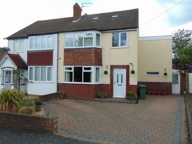 4 Bedrooms Semi Detached House for sale in Widney Avenue, Aldridge