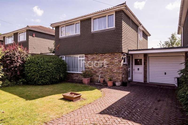 3 Bedrooms Detached House for sale in Hartshill Close, Hillingdon
