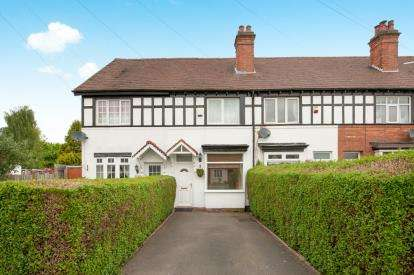 2 Bedrooms Terraced House for sale in Tower Road, Sutton Coldfield, West Midlands, .