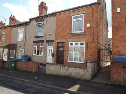 2 Bedrooms Terraced House for sale in Albion Street, Mansfield, Nottinghamshire
