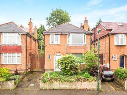 3 Bedrooms Detached House for sale in Newfield Road, Sherwood, Nottingham, Nottinghamshire