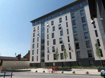 2 Bedrooms Flat for sale in Plaza Boulevard, Liverpool, Merseyside, L8