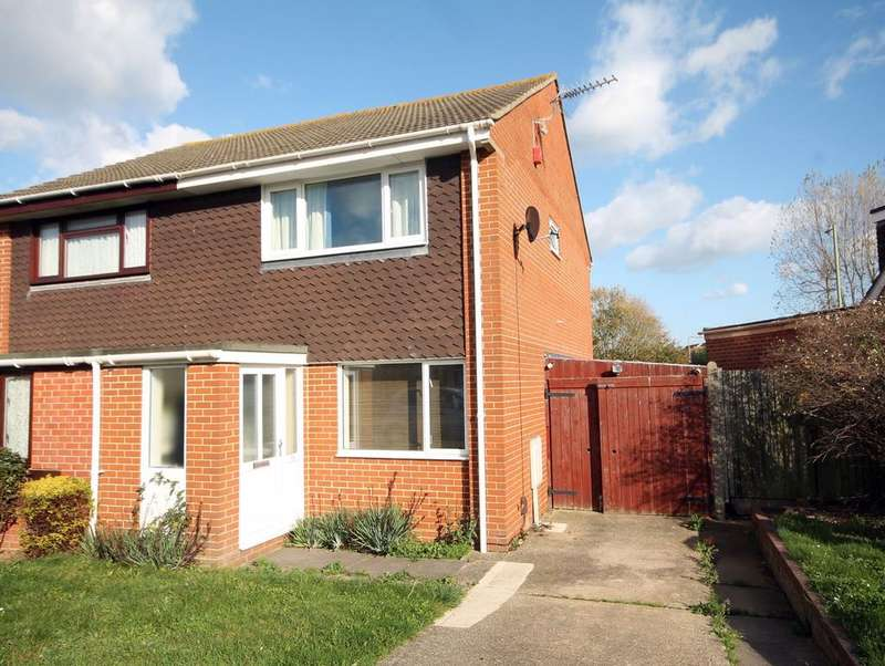 2 Bedrooms Semi Detached House for sale in Kimpton Close, Lee-On-Solent, Fareham PO13