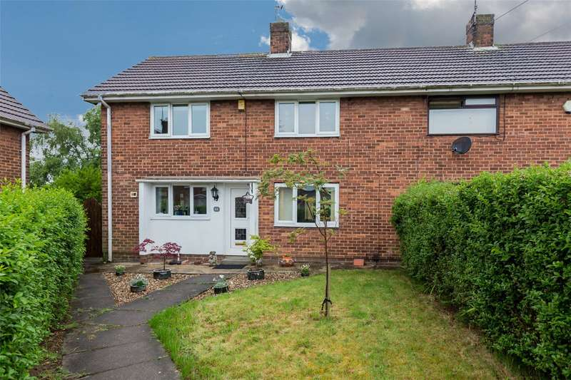 3 Bedrooms End Of Terrace House for sale in Kew Crescent, Charnock, Sheffield, S12
