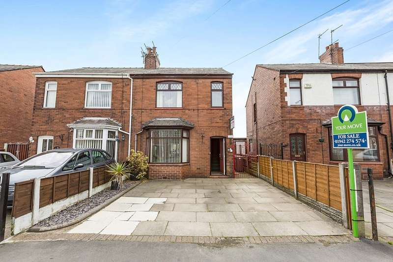 3 Bedrooms Semi Detached House for sale in Spindle Hillock, Ashton-In-Makerfield, Wigan, WN4