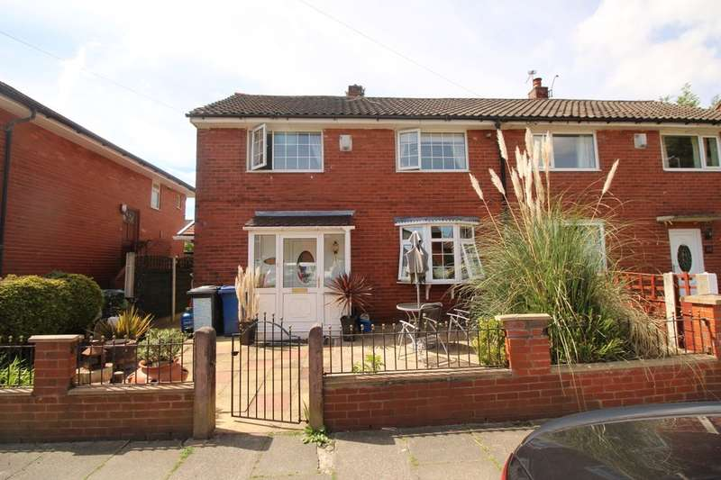 3 Bedrooms Semi Detached House for sale in Rutland Drive, Bury, BL9