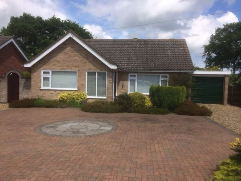 3 Bedrooms Detached Bungalow for sale in Swafield Rise, North Walsham