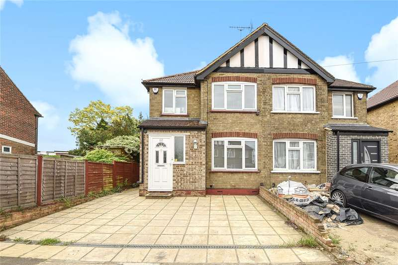 3 Bedrooms Semi Detached House for sale in Clifton Gardens, Hillingdon, Middlesex, UB10