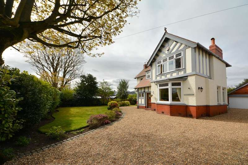 4 Bedrooms Detached House for sale in Hob Hey Lane, Culcheth, Warrington, Cheshire, WA3 4NR