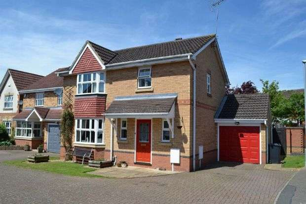 3 Bedrooms Detached House for sale in Riverstone Way, Hunsbury Meadows, Northampton NN4 9QH