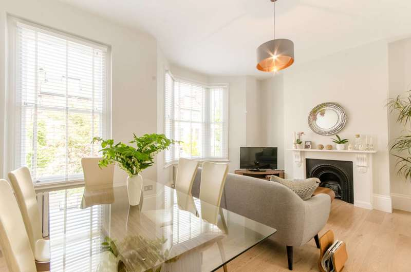 4 Bedrooms Flat for sale in Iverson Road, West Hampstead, NW6