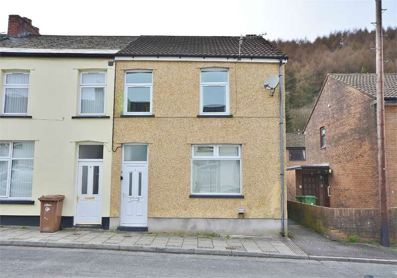 3 Bedrooms End Of Terrace House for sale in Thomas Street, Llanbradach, CAERPHILLY, CF83