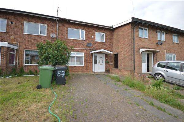 3 Bedrooms Terraced House for sale in CROYDE AVENUE, CORBY