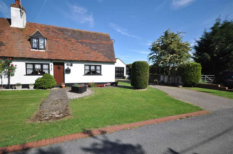 2 Bedrooms Semi Detached House for sale in Russetts Cottages, Spriggs Lane, Blackmore