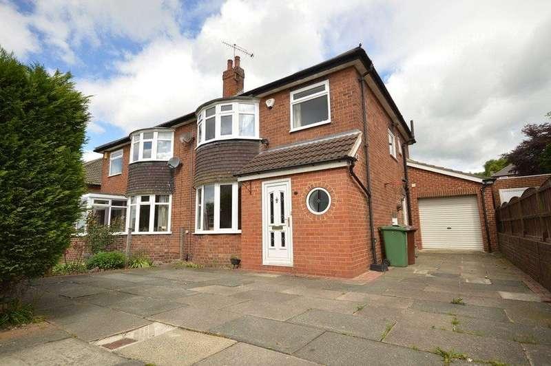 3 Bedrooms Semi Detached House for sale in Moseley Wood Gardens, Cookridge, Leeds