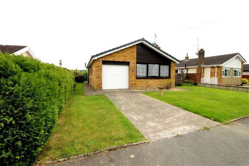 2 Bedrooms Detached Bungalow for sale in Aubet Drive, Guilsfield, Welshpool