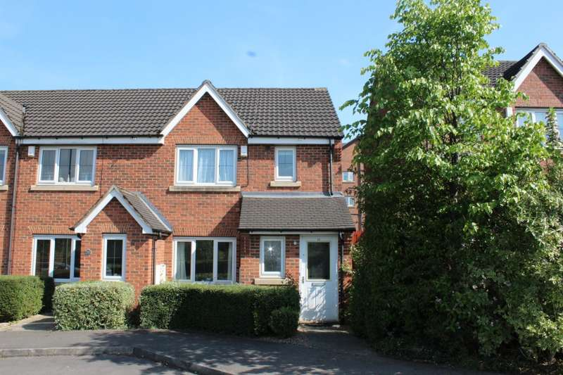 3 Bedrooms End Of Terrace House for sale in Pavilion Close, Stanningley, LS28