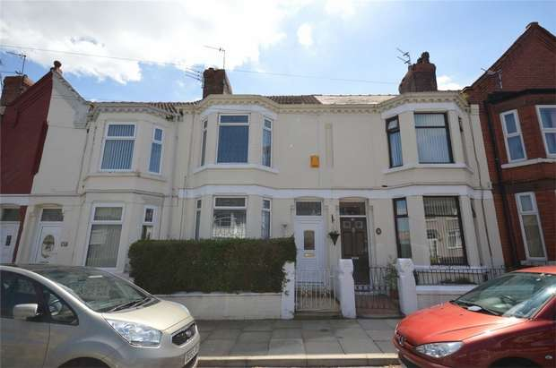3 Bedrooms Terraced House for sale in Browning Avenue, Rock Ferry