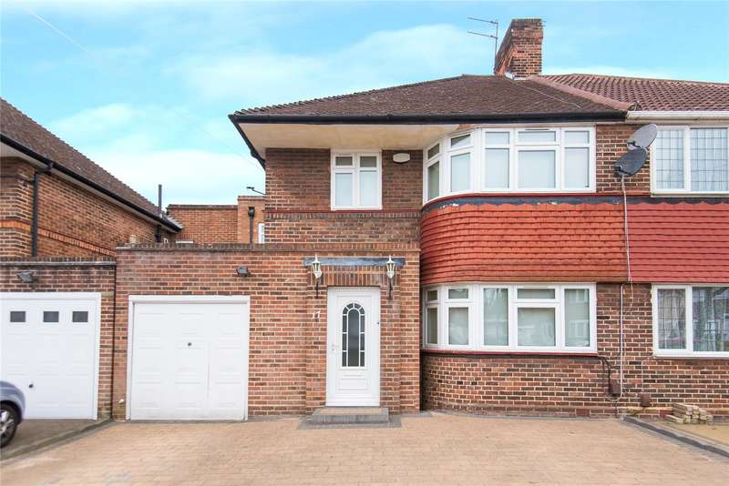 4 Bedrooms Semi Detached House for sale in Howberry Road, Edgware, HA8