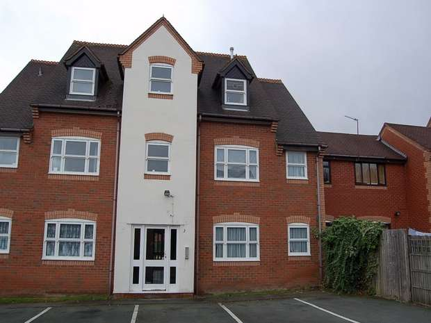 2 Bedrooms Flat for sale in Willow Bank, Aqueduct, Telford, Shropshire