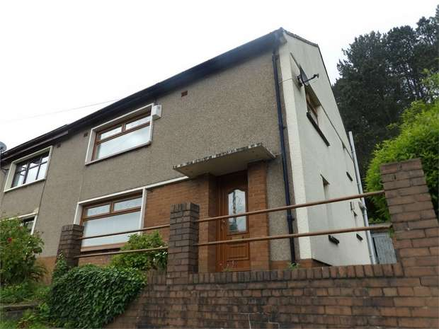 3 Bedrooms Semi Detached House for sale in Partridge Road, Tonypandy, Mid Glamorgan